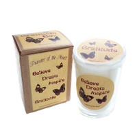 Butterfly Line - Believe, Dream, Inspire, Gratitude - 7oz