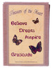 Butterfly Line - Believe, Dream, Inspire, Gratitude - Box Front View