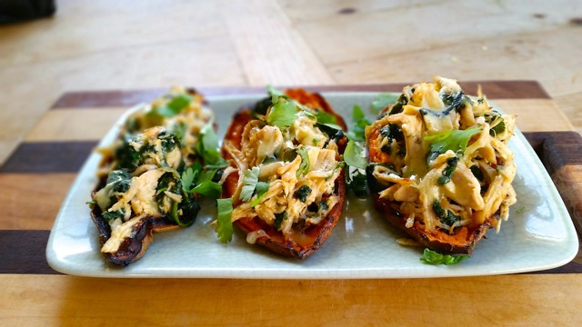 how to make sweet potato skins with smokin' chipotle
