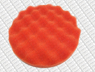 WAFFLE PADS - ( 200mm diameter velcro backed) DARK ORANGE COURSE