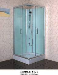 Complete Shower Cubicle  Square 90x90 Jetless