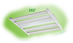 CLARK 2X2 LED LINEAR HIGH BAY LUMILEDS - HBL22D80W27V50KH