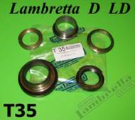 Lambretta Steering Race/Shell Set LD/D Casa (LD14-T35)