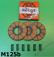 Lambretta Clutch Plate/Spring Kit LD125 (51-55) Casa (LD19-M125B)
