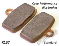 Lambretta Brake Pad Set CasaDisc CasaPro (153-X137)