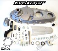 Lambretta Engine Side Cover CasaCover Silver (DW-CPX240S)