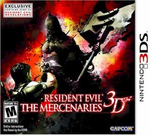 Resident Evil The Mercenaries 3D (3DS)