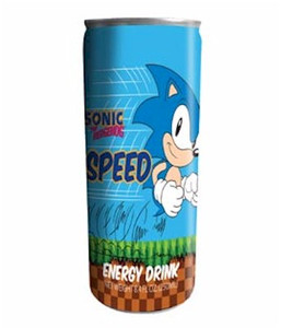 Energy Drink - Sonic the Hedgehog Speed