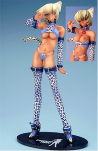 Animal Girls Figure Leopard Girl Sharon