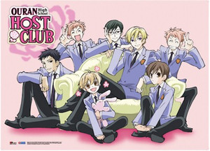 Ouran High School Host Club Wallscroll #5234