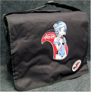 Kiddy Grade Lumiere Logo Pose Messenger Bag (Black)