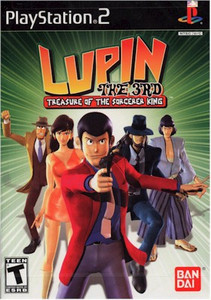 Lupin III Treasure Of The Sorceror King (PS2)