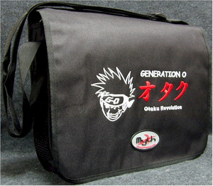Generation O - Otaku Revolution Courier Bag (Black)