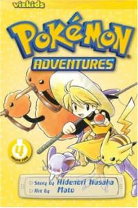 Pokemon Adventures Graphic Novel Vol. 04