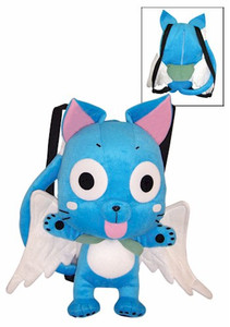 Fairy Tail Plush Backpack - Happy