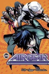 Air Gear Graphic Novel 28
