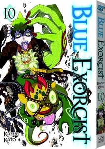 Blue Exorcist Graphic Novel Vol. 10