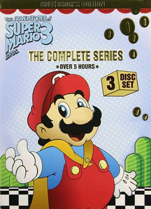 Adventures of Super Mario Bros 3 The Complete Series DVD