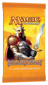Magic the Gathering TCG Dragon's Maze Booster Pack