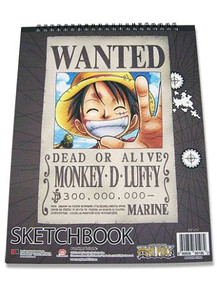 One Piece Sketchbook - Luffy Wanted
