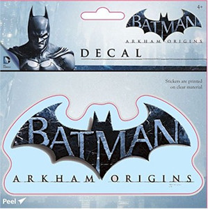Batman Arkham Origins Sticker Decal - Batman Logo
