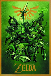 Legend of Zelda Poster - Links