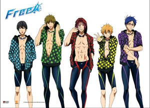 Free! Wallscroll - Group