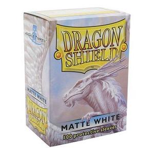 Dragon Shield Protective Sleeves 100 - Matte White