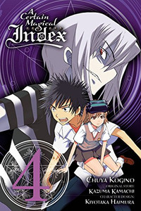 A Certain Magical Index Graphic Novel 04