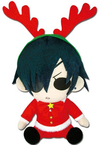 Black Butler Plush Doll Ciel Christmas Dress