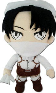 Attack on Titan Plush Doll - Levi Cleaning