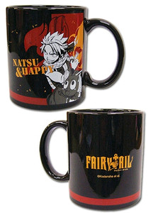 Fairy Tail Mug - Natsu & Happy Fired Up