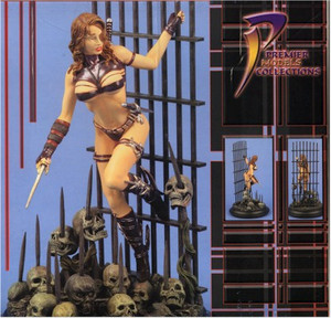 Cage Resin Statue