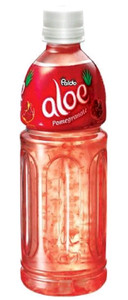 Aloe Natural Drink (500ml) - Pomegranate