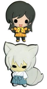 Kamisama Kiss Pin Set - SD Tomoe & Nanami