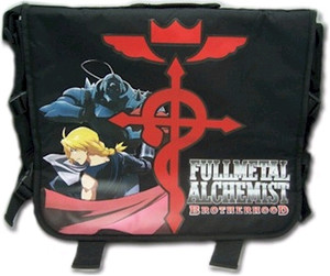 FMA Brotherhood Messenger Bag - Elric Brothers (Black)