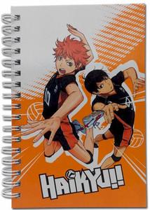 Haikyu!! HC Notebook - Shoyo & Kageyama