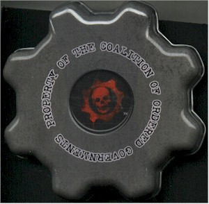 Candy - Gears of War Cog Tag Mints