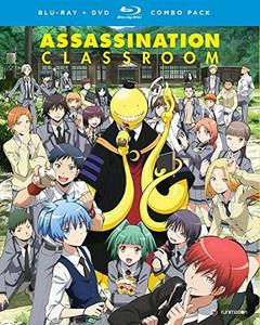 Asssassination Classroom Season 1 Part 1 Blu-ray/DVD
