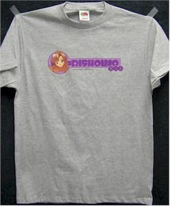 Anime Bishoujo T-Shirt (Gray)