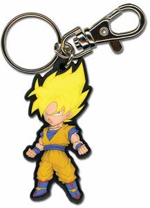Dragon Ball Z PVC Keychain - SD SS Goku