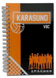 Haikyu!! HC Notebook - Karasuno VBC