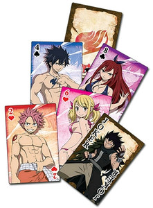 Fairy Tail Playing Cards #2