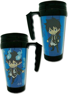 Blue Exorcist Tumbler - Rin (w/ Handle)