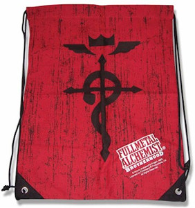FMA Brotherhood Drawstring Bag - Cross of Flamel