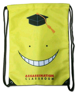 Assassination Classroom Drawstring Bag - Koro Sensei