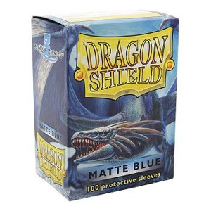 Dragon Shield Protective Sleeves 100 - Matte Blue