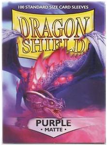 Dragon Shield Protective Sleeves 100 - Matte Purple