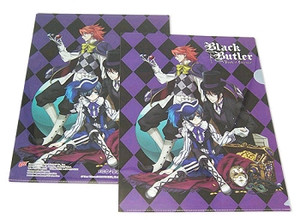 Black Butler ~Book of Circus~ File Folder - Treasure