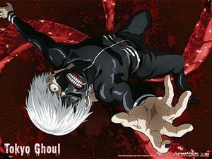 Tokyo Ghoul Wallscroll - Kaneki One-Eyed Ghoul Reaching